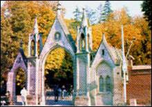 Лычаковское кладбище во Львове. Здесь похоронен М.И. Ковальчук-Прейм